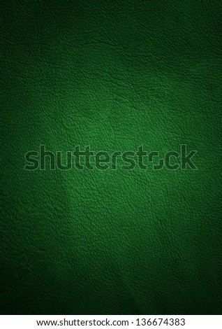 leather texture green - stock photo