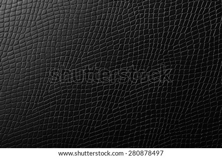 Leather textured background - stock photo