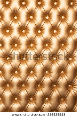 Leather upholstery luxurious furniture.  - stock photo