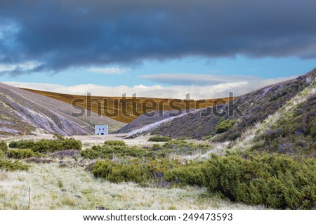 Lecht Mine, Glenlivet, Highlands, Scotland - stock photo