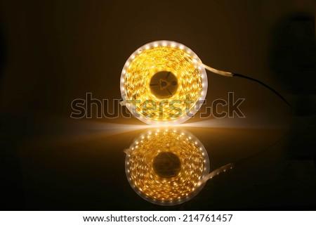 led lighting - stock photo