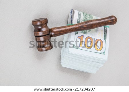 legal expenses - stock photo