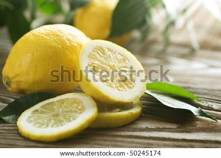 Lemon - stock photo