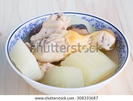 Lemon chicken - stock photo