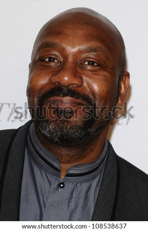 Lenny Henry arriving for the South Bank Sky Arts Awards 2012, Dorchester Hotel, London. 01/05/2012 Picture by: Steve Vas / Featureflash - stock photo