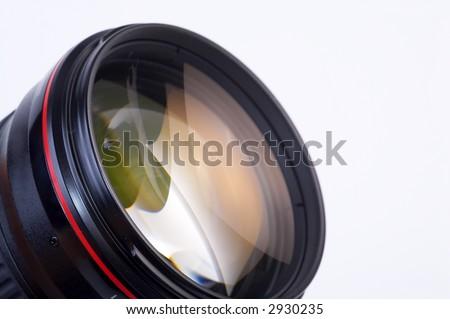 LENS - stock photo