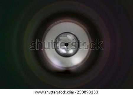 Lens Aperture - stock photo