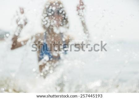 lens blur - stock photo