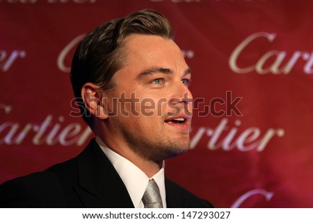 Leonardo DiCaprio arriving at the 20th Annual Palm Springs Film Festival Awards Gala at the Palm Springs Convention Center in Palm Springs, CA on  January 6, 2009 - stock photo