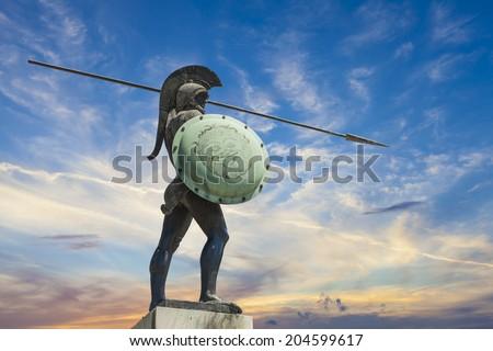 Leonidas,King of Sparta  - stock photo