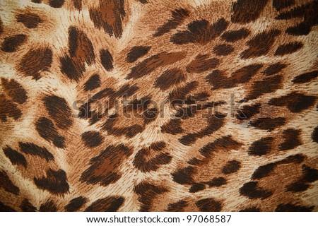 leopard or jaguar pattern background - stock photo