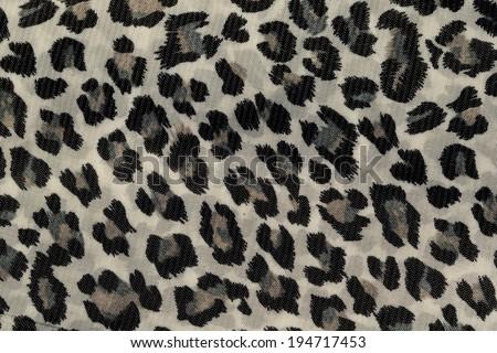 leopard  pattern background texture - stock photo