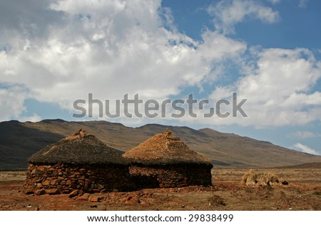 Lesotho, Kingdom of South Africa, southern Africa - stock photo