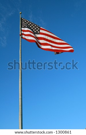 LET FREEDOM REIGN - stock photo