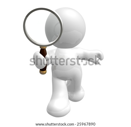 Let's find anything from here icon symbol - stock photo