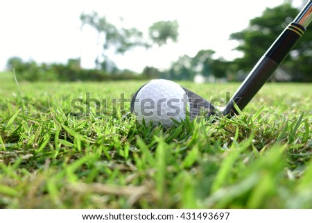 Let's golf