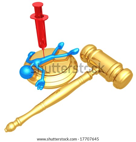 Lethal Injection Death Penalty - stock photo
