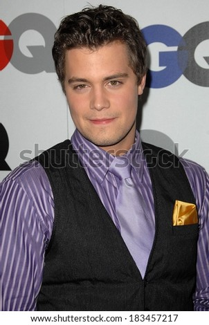 Levi Johnston at Gentleman's Quarterly GQ Men of the Year Event, Chateau Marmont, Los Angeles, CA November 18, 2009  - stock photo