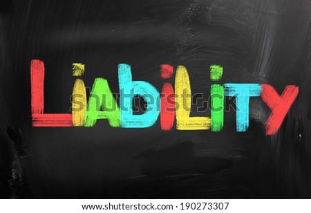 Liability Concept - stock photo