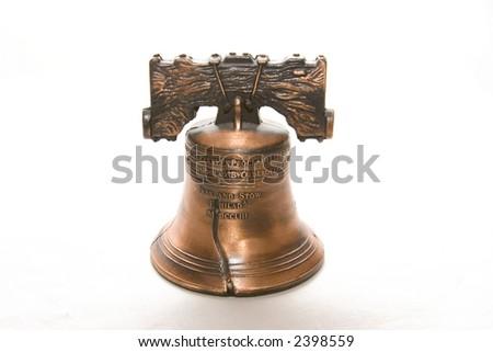 liberty bell souvenir - stock photo