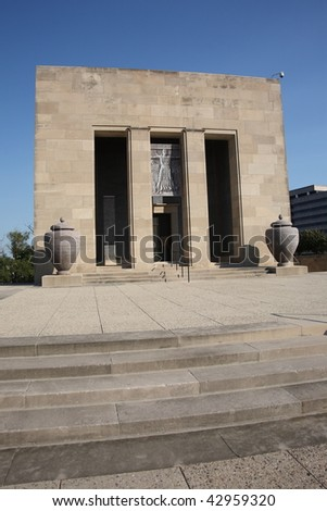 Liberty Memorial World War One Museum - Kansas City - stock photo