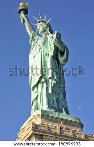 Liberty Statue in New York - stock photo