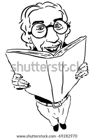 Librarian - stock photo