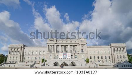 Library of Congress building - Washington DC United States - stock photo