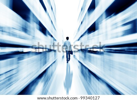 Library shelves, a large number of books. - stock photo