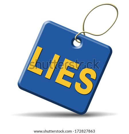 lies breaking promise break promises cheating and deception  - stock photo