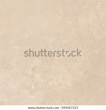 Light beige travertine natural stone texture background. Approximately 2 by 2 foot area. - stock photo