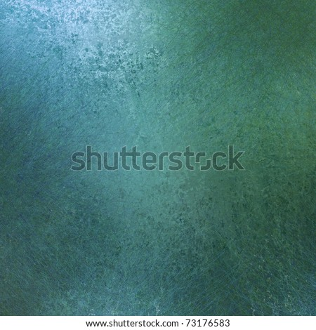 light blue background paper with faint grunge texture and sponging, soft highlights, and copy space - stock photo
