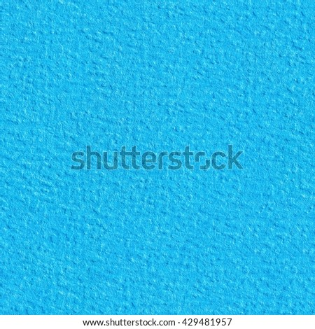 Light blue paper closeup photo. Seamless square texture. Tile ready. - stock photo