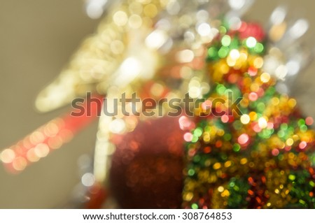 light blurred cerebration cerebrate glitter golden  - stock photo
