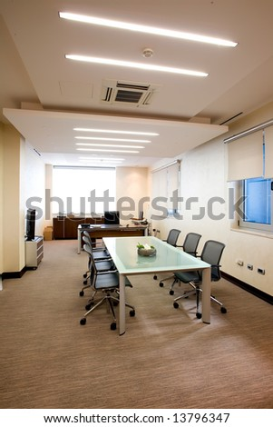 light boardroom - stock photo