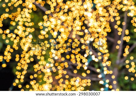light bokeh as an abstract background - stock photo