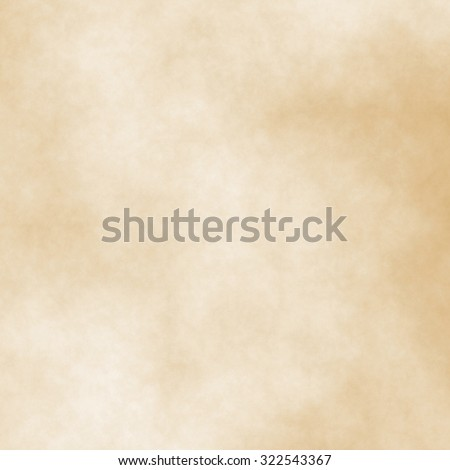 light brown background - old paper, grainy texture - stock photo