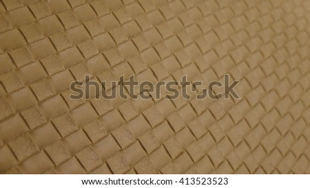 Light Brown Leather texture- background for design with copy space for text or image. - stock photo