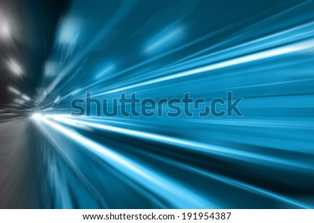 Light car - stock photo