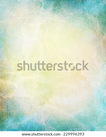 Light colorful watercolor background, abstract painting. Copy space. - stock photo