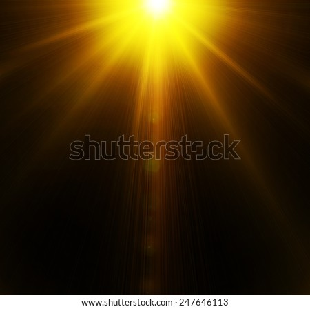 Light. concert lighting against a dark background ilustration - stock photo