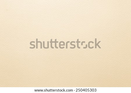 Light cream tone water color paper texture : 100-grams watercolor paper  - stock photo