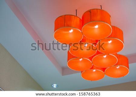 Light fixture - stock photo