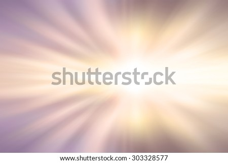 light from the sun shining through the clouds in the sky. - stock photo