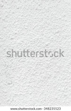Light gray stucco wall texture background - stock photo