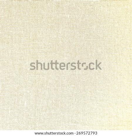 Light natural linen texture background - stock photo