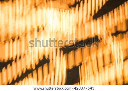Light painting abstract art - stock photo