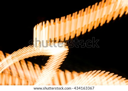 Light painting abstract art background - stock photo