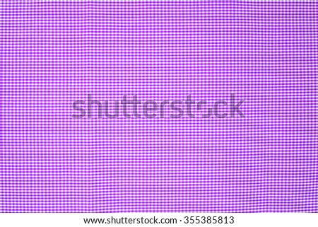 light Purple  tablecloth texture, background with copy space (The pattern on this fabric is common in Thailand and is not subjected to copyright) - stock photo