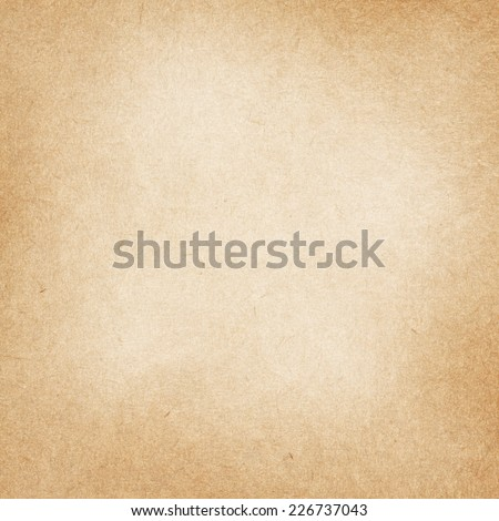 Light recycled brown paper texture with space for text - stock photo